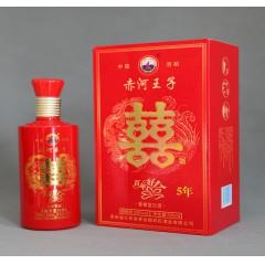 供应赤河·王子(五年窖藏) 酱香型白酒